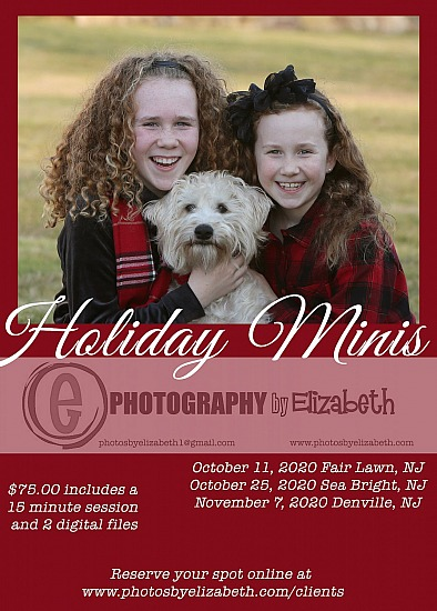 Holiday Mini Sessions 2020